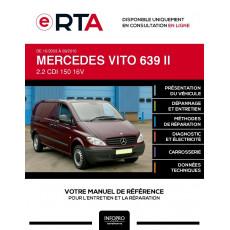E-RTA Mercedes Vito II FOURGON 4 portes de 10/2003 à 09/2010