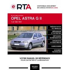 E-RTA Opel Astra II HAYON 5 portes de 04/1998 à 04/2004