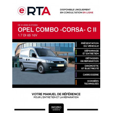 E-RTA Opel Combo -corsa- II FOURGON 4 portes de 01/2002 à 07/2004