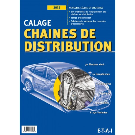 CALAGE CHAINES DE DISTRIBUTION 2012