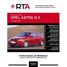 E-RTA Opel Astra II HAYON 3 portes de 04/1998 à 04/2004