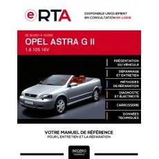 E-RTA Opel Astra II CABRIOLET 2 portes de 02/2001 à 10/2005