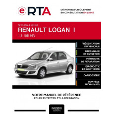 E-RTA Renault Logan I BERLINE 4 portes de 07/2008 à 12/2012