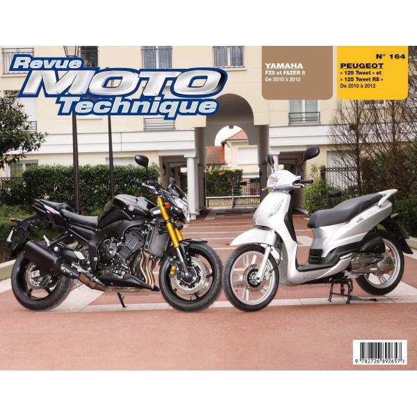 Revue Technique Rmt Peugeot 125 tweet et Yamaha fz8