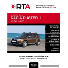 E-RTA Dacia Duster I BREAK 5 portes de 03/2010 à 12/2013