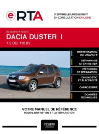E-RTA Dacia Duster I BREAK 5 portes de 03/2010 à 12/2013