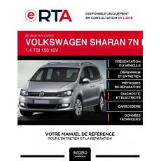 E-RTA Volkswagen Sharan II MONOSPACE 5 portes de 06/2010 à 12/2015