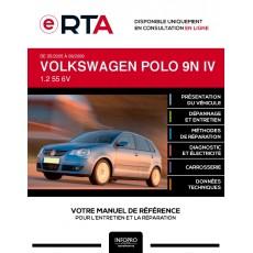 E-RTA Volkswagen Polo IV HAYON 5 portes de 05/2005 à 09/2009