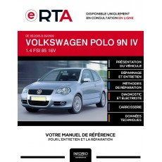 E-RTA Volkswagen Polo IV HAYON 3 portes de 05/2005 à 09/2009
