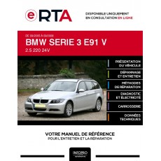 E-RTA Bmw Serie 3 V BREAK 5 portes de 09/2005 à 09/2008