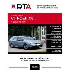 E-RTA Citroen C5 I BREAK 5 portes de 09/2004 à 06/2008