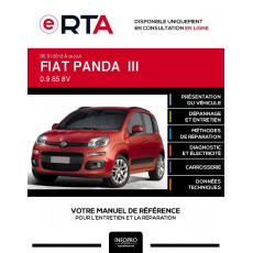 E-RTA Fiat Panda III HAYON 5 portes de 01/2012 à ce jour