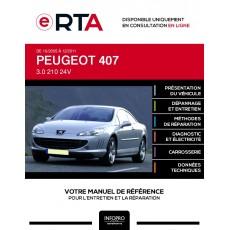 E-RTA Peugeot 407 COUPE 2 portes de 10/2005 à 12/2011