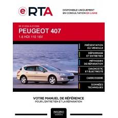 E-RTA Peugeot 407 BREAK 5 portes de 07/2004 à 07/2008