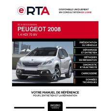 E-RTA Peugeot 2008 HAYON 5 portes de 01/2013 à 09/2016