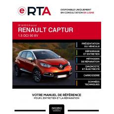 E-RTA Renault Captur HAYON 5 portes de 02/2013 à ce jour