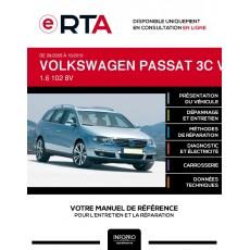 E-RTA Volkswagen Passat V BREAK 5 portes de 09/2005 à 10/2010