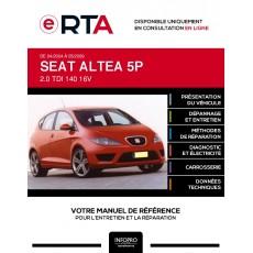 E-RTA Seat Altea MONOSPACE 5 portes de 04/2004 à 05/2009