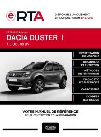 E-RTA Dacia Duster I BREAK 5 portes de 09/2013 à ce jour