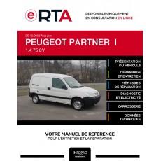 E-RTA Peugeot Partner I FOURGON 5 portes de 12/2002 à ce jour