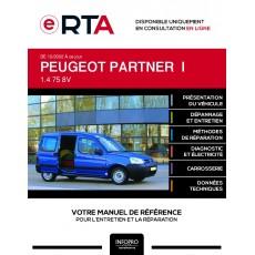 E-RTA Peugeot Partner I FOURGON 4 portes de 12/2002 à ce jour