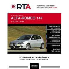 E-RTA Alfa-romeo 147 HAYON 3 portes de 09/2004 à 06/2010