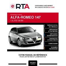 E-RTA Alfa-romeo 147 HAYON 5 portes de 09/2004 à 10/2010