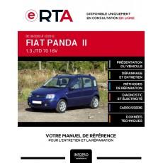 E-RTA Fiat Panda II HAYON 5 portes de 09/2003 à 12/2012