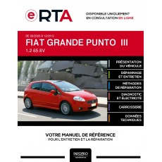 E-RTA Fiat Grande punto III HAYON 3 portes de 09/2005 à 12/2013