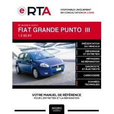 E-RTA Fiat Grande punto III HAYON 5 portes de 09/2005 à 12/2013