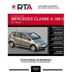 E-RTA Mercedes Classe a II MONOSPACE 5 portes de 09/2004 à 04/2008