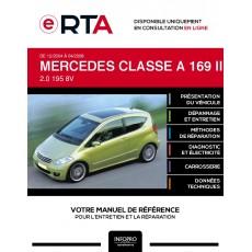 E-RTA Mercedes Classe a II MONOSPACE 3 portes de 12/2004 à 04/2008