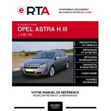 E-RTA Opel Astra III HAYON 5 portes de 04/2004 à 12/2006