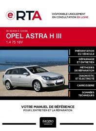 E-RTA Opel Astra III BREAK 5 portes de 09/2004 à 12/2006