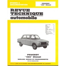 Revue Technique Automobile Peugeot 304 Diesel