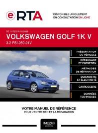 E-RTA Volkswagen Golf V HAYON 3 portes de 11/2003 à 10/2008