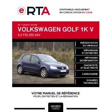 E-RTA Volkswagen Golf V HAYON 5 portes de 11/2003 à 10/2008