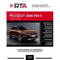 E-RTA Peugeot 3008 II BREAK 5 portes de 06/2016 à ce jour