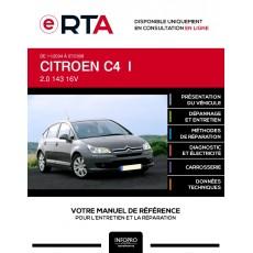E-RTA Citroen C4 I HAYON 5 portes de 11/2004 à 07/2008
