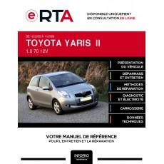 E-RTA Toyota Yaris II HAYON 3 portes de 12/2005 à 11/2009