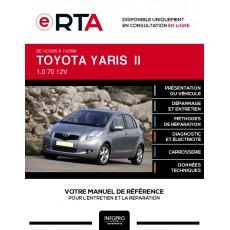 E-RTA Toyota Yaris II HAYON 5 portes de 12/2005 à 11/2009