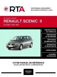 E-RTA Renault Scenic II MONOSPACE 5 portes de 03/2004 à 09/2006