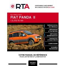 E-RTA Fiat Panda II HAYON 5 portes de 01/2006 à 12/2012