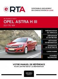 E-RTA Opel Astra III CABRIOLET 2 portes de 03/2006 à 12/2011