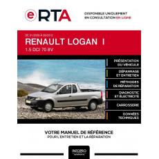 E-RTA Renault Logan I PICKUP 2 portes de 01/2009 à 09/2012