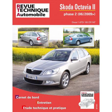 SKODA OCTAVIA II PH.2 1.6 TDI 105 CR depuis 06/2009