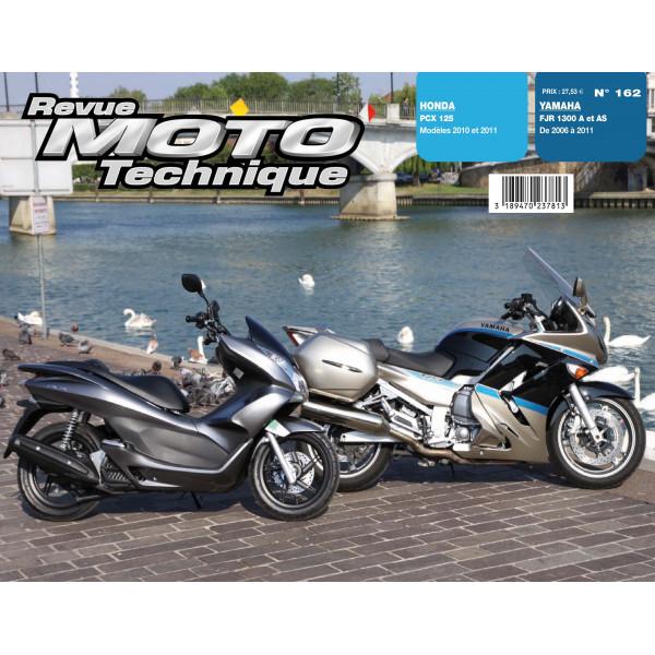 Revue Technique Rmt Honda pcx 125 et Yamaha fjr 1300a et as