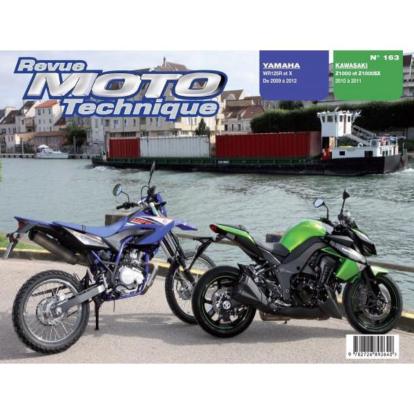 Revue Technique Rmt Yamaha wr125r, 125x et Kawasaki z1000, z1000sx