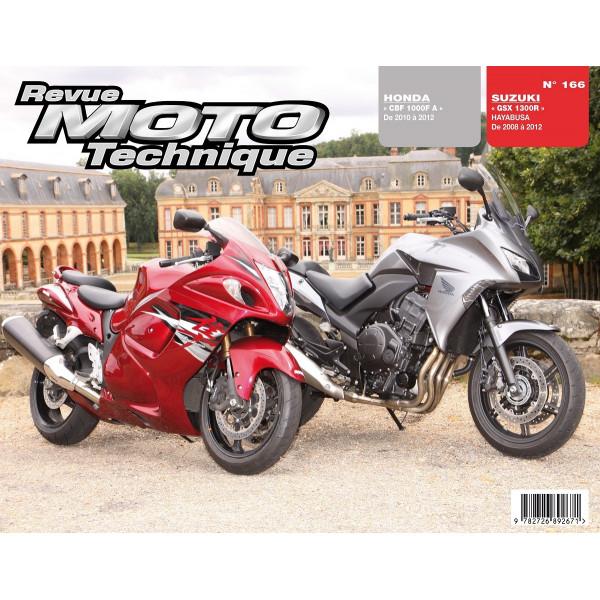 Revue Technique Rmt Honda cbf1000fa et Suzuki gsx1300r hayabusa