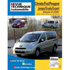 RTA B728.5 CITROEN/FIAT/PEUGEOT JUMPY/SCUDO/EXPERT II (2007 à 2016)